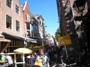 Kleine Gassen in Alkmaar